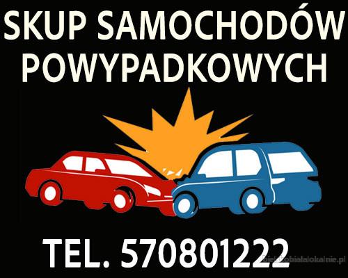 Skup aut powypadkowych, rozbitych, uszkodzonych. Gotówka, minimum formalności. Śląsk Małopolska Opolskie