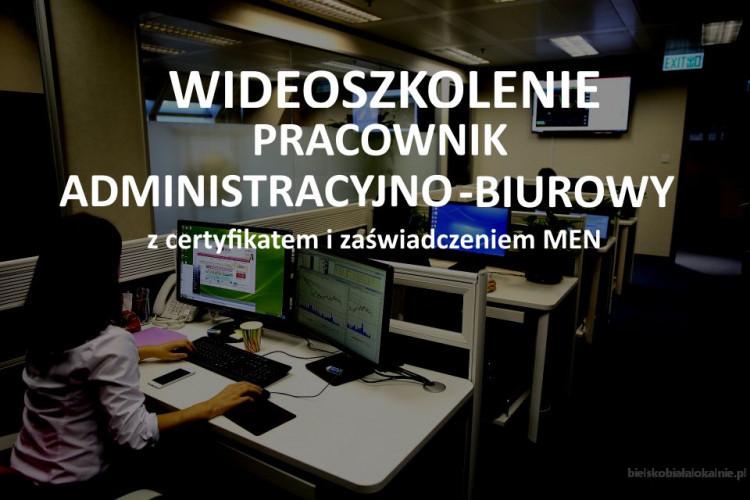 Szkolenie Pracownik administracyjno-biurowy